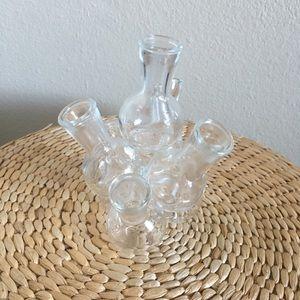 7 Little Glass Planter Sculpture